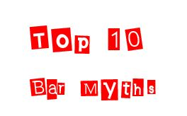 Top 10 bar myths